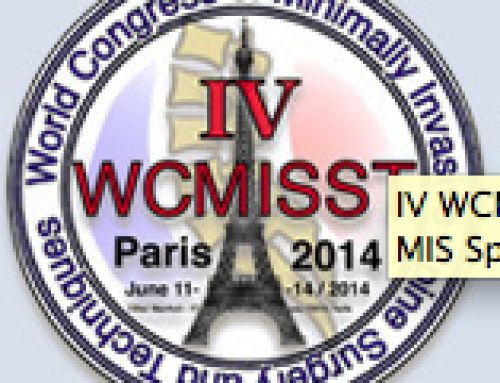 Dr. Adelman Speaks at World Congress of Minimally Invasive Spine Surgery and Techniques in Paris